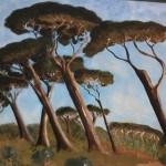 Quadro di Baratti Agriturismo Diciocco in Toscana tra la campagna e il mare