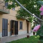 Retro del casolare Agriturismo Diciocco in Toscana tra la campagna e il mare